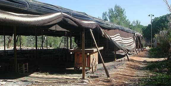 Abrahams Tent Hosting Biblical Style In An Authentic Setting